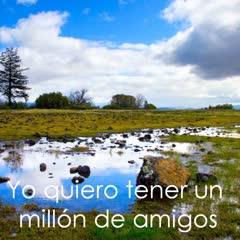 Un millon de amigos - Roberto Carlos (Con letra y audio) - YouTube