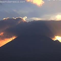 El Volcán Popocatépetl en streaming