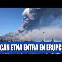 EXPLOSIÓN MASIVA DEL VOLCAN ETNA EN ITALIA HOY 24 DE DICIEMBRE - Noticias Pepe En Vivo
