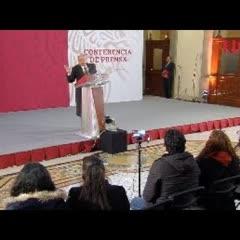 Conferencia de prensa de AMLO, 4 de enero