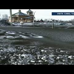 Cae nieve negra y tóxica en Rusia