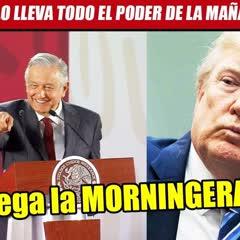 "AMLO exporta la mañanera a EU. Ebrard dará la ""morningera"" en Washington"