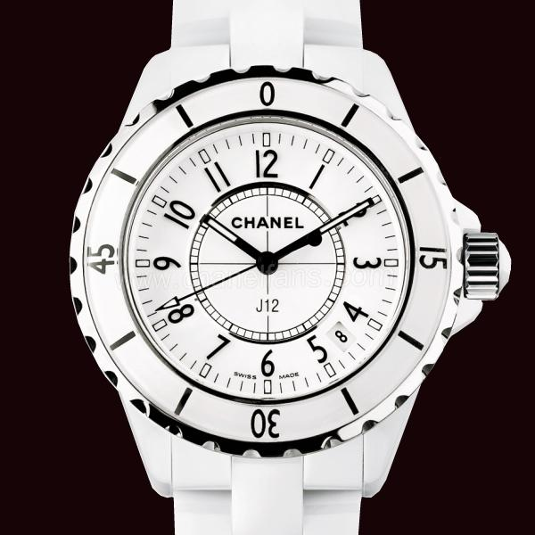 Chanel J12 White Ceramic Ladies Watch H0968